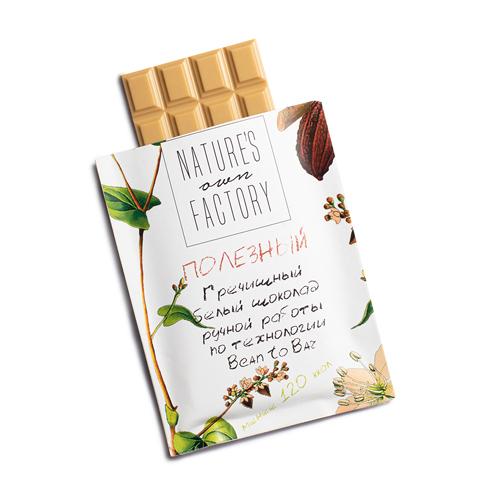 Белый шоколад с гречишным чаем (20 гр)